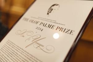 Olof Palme Prize