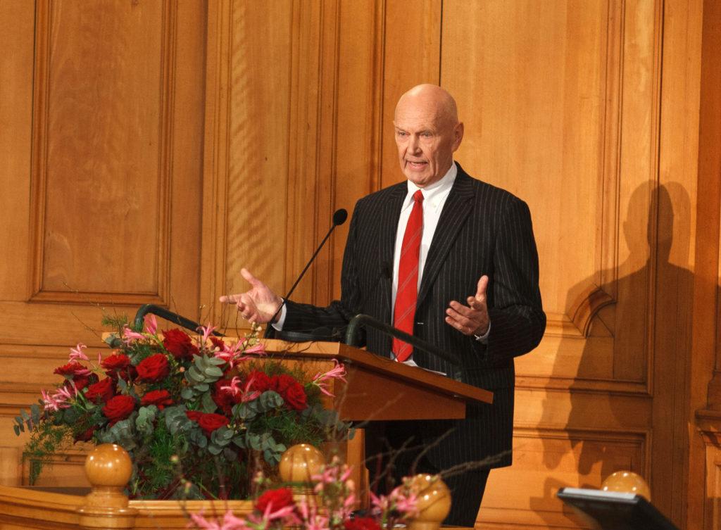 Pierre Schori, Chairman, The Olof Palme Memorial Fund. Photo: Björn Qvarfordt