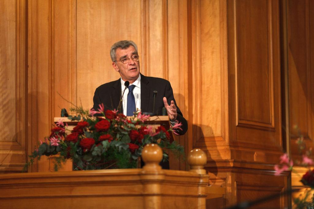 Speech Spyridon Galinos. Photo: Björn Qvarfordt