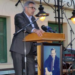 Ordförande i föreningen OLOF PALMES VÄNNER Manolis Zervakis
